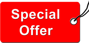 SPECIAL OFFER ….